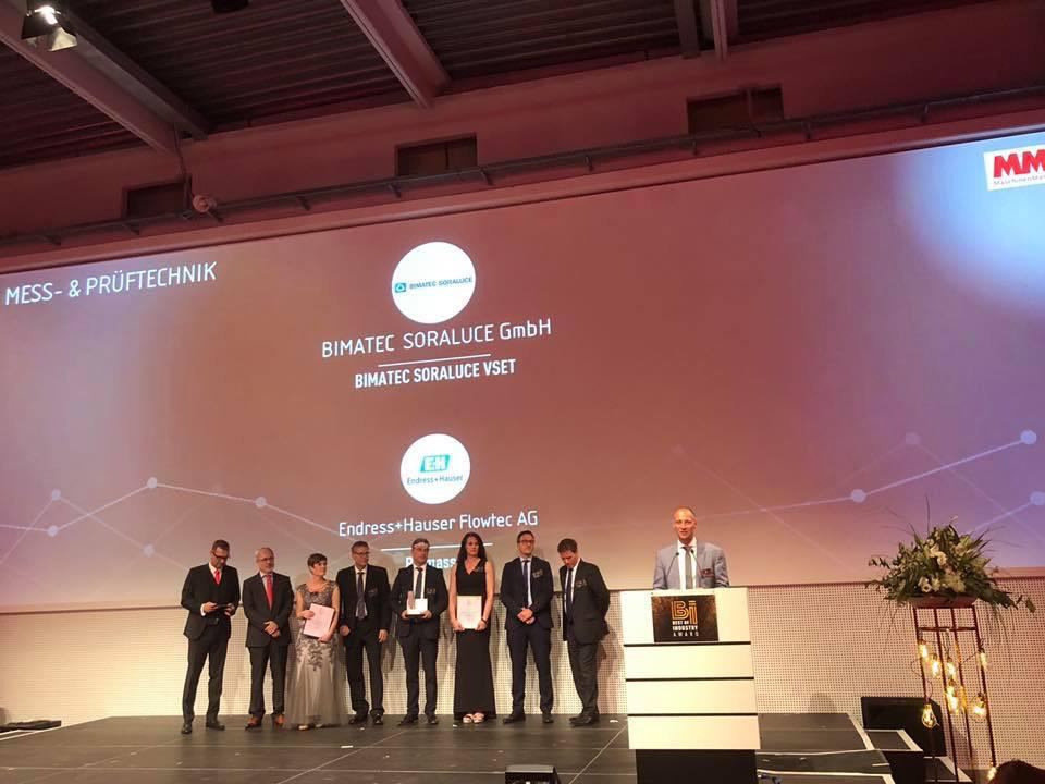 Image for:BIMATEC SORALUCE receives the Best of Industry Award